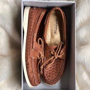Sperry A/O Papaya Woven shoes (US 8)